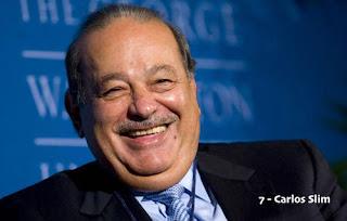 Carlos Slim – US$ 48.5 bilhões (México) – América Movil