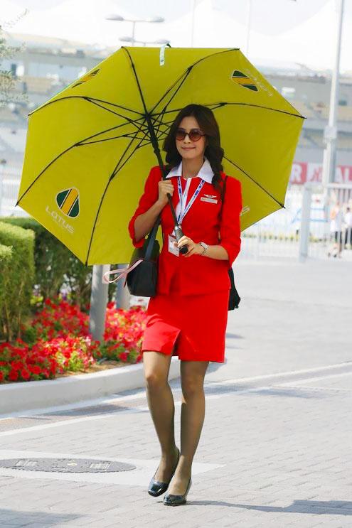 AirAsia Sexy Stewardess