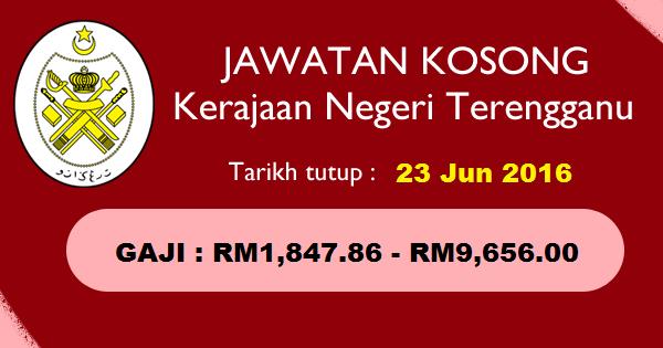 Jawatan Kosong di Pejabat Setiausaha Kerajaan Negeri Terengganu
