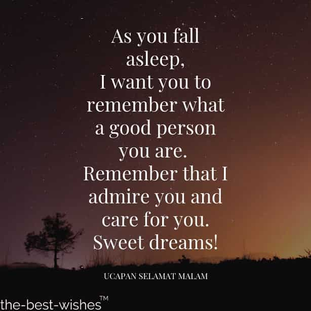 good night quote inspirational