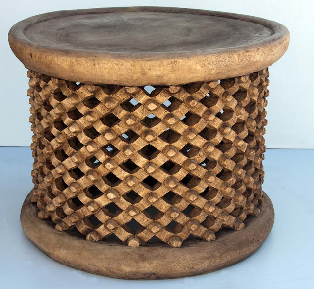 African Wood Carved Furniture 7
