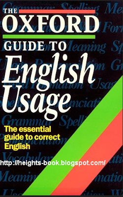 Télécharger Livre Gratuit The Oxford Guide to English Usage pdf