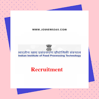 IIFPT Thanjavur Recruitment 2020 for Faculty, SRF, JRF, RA & PA