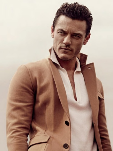 Luke Evans by John Balsom
