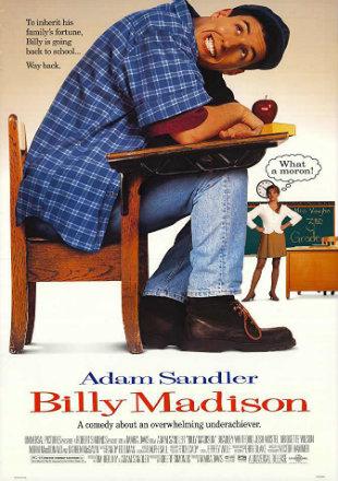 Poster Of Billy Madison 1995 BRRip 720p Hindi English Dual Audio