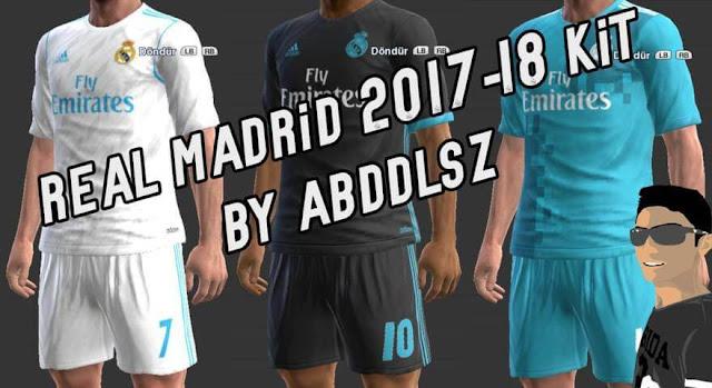 Real Madrid Kit 2017-2018 PES 2013