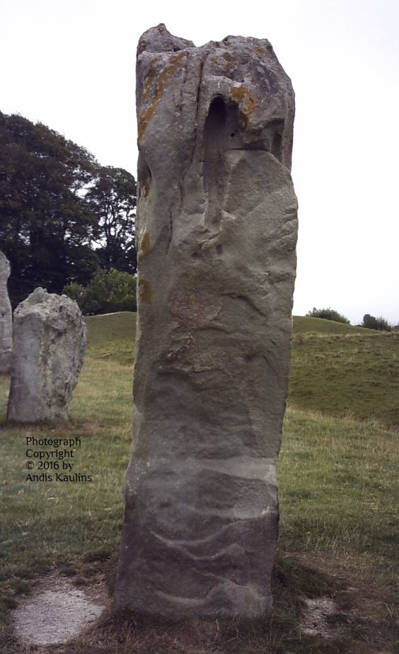 Avebury Stone #9 Hydra Side