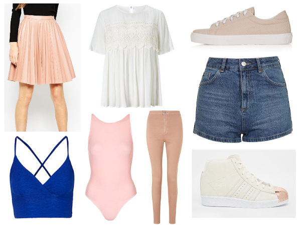 Wishlist | Pink, White & Blue