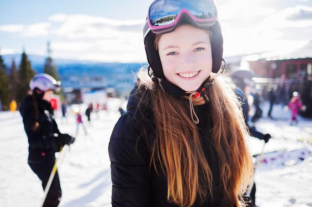 İsveçli Kız Kayak Hobi
