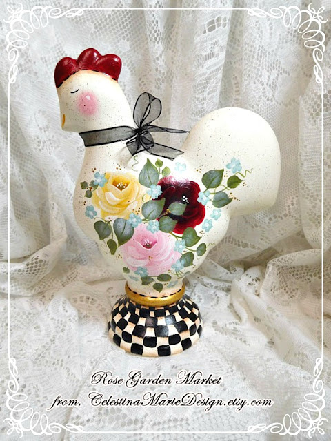handpainted-decor-home-decorating-roses-chicken-french-athomewithjemma