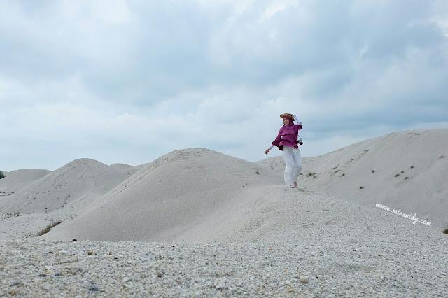 klebang sand dunes in malacca