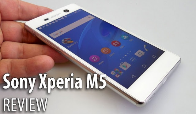 Harga HP Sony Xperia M5 Tahun 2017 Lengkap Dengan Spesifikasi, RAM 3GB, Memori Internal 16GB, Layar 5 Inchi, Kamera Utama 21 MP