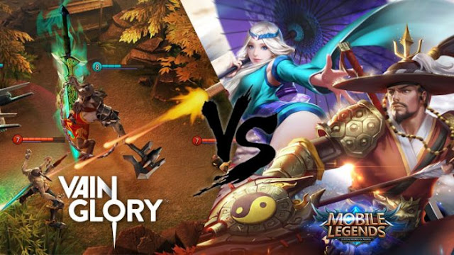 VainGlory vs Mobile Legend ? Game MOBA Mobile mana yang Terbaik ?