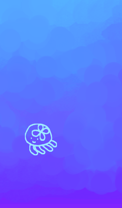 Comfortable jellyfish simple Ver.