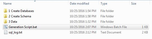 Scripts in Folder