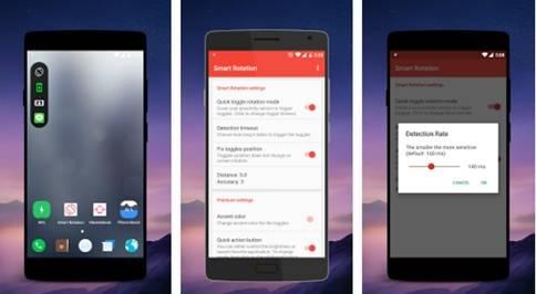 Aplikasi Rotasi Layar Android