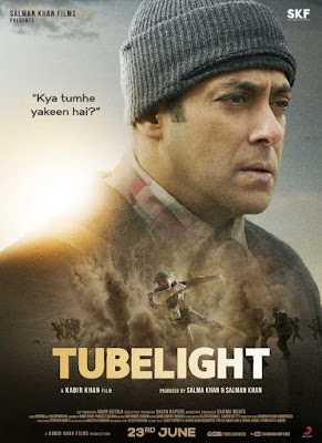 Tubelight 2017 Hindi 720p DVDScr 600Mb HEVC x265