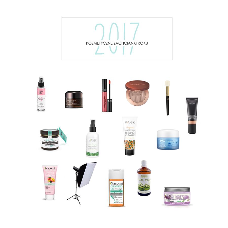 Kosmetyczne zachcianki roku 2017 | Wishlista