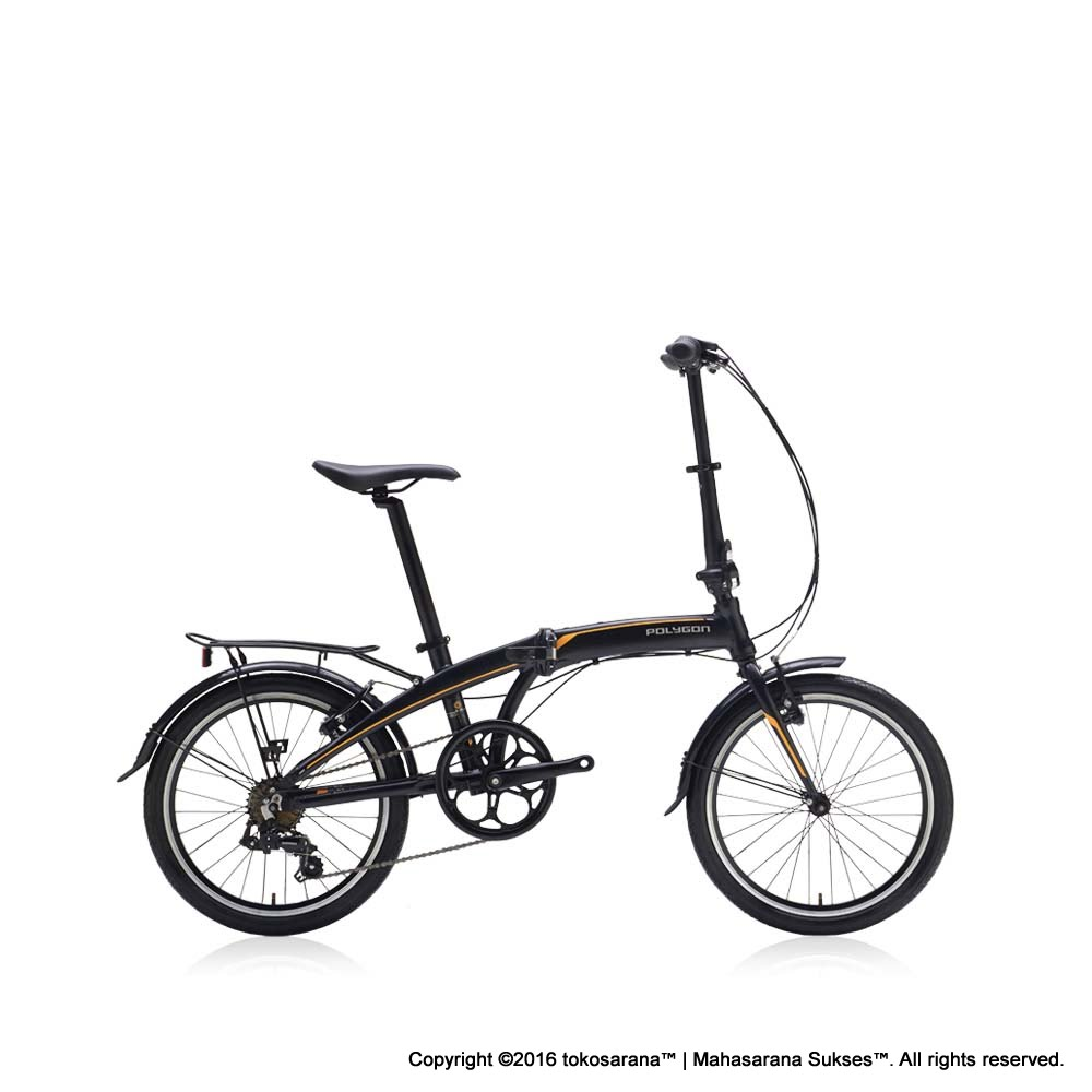 Sepeda Lipat Polygon Urbano Revive 20