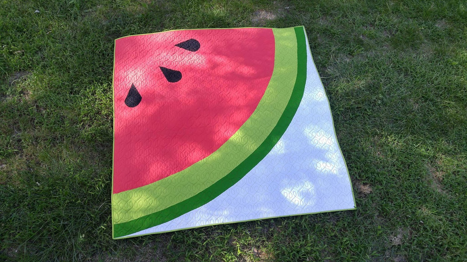 Slice of Pi Quilts: Sliced : watermelon quilt - Adamdwight.com