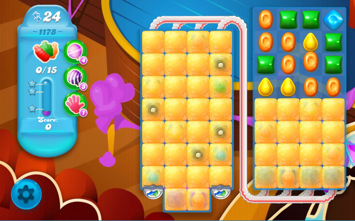 Candy Crush Soda Saga level 1178
