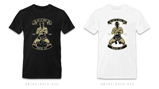 SRT07-P4FC-CTS Retro T Shirt Design, Custom T Shirt Printing