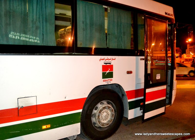 Oman National Transport Co. Dubai-Muscat Bus