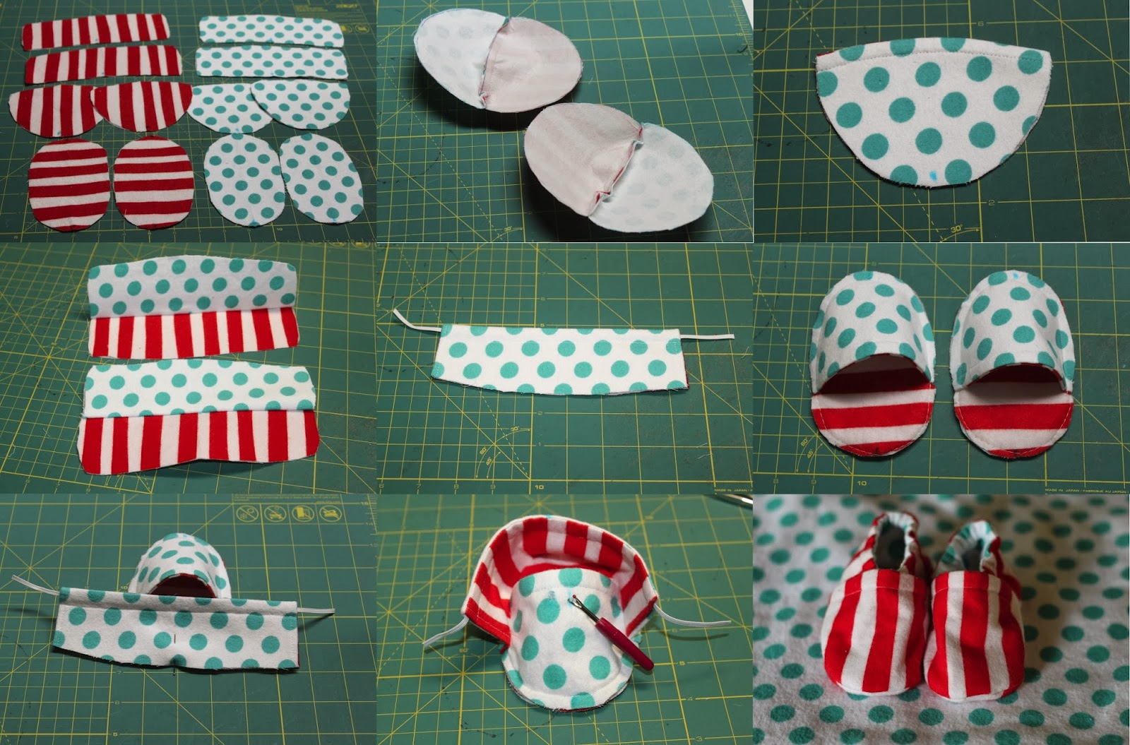 Cloth Baby Shoes Tutorial