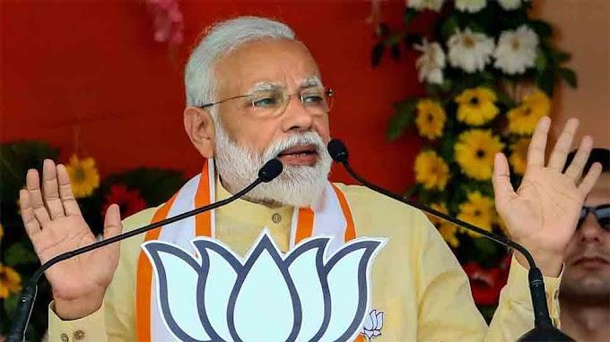 Prime Minister Narendra Modi holds roadshow in Varanasi