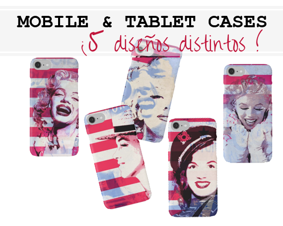 mobile cases in pop art style, marilñyn monroe at RedBubble