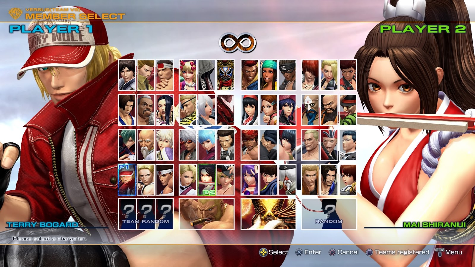Fgc watcher versus super game point the king of fighters xiv vers o 2017 ou season 2 - King of fighters characters pictures ...