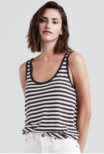 Ashbury Tank Top Striped