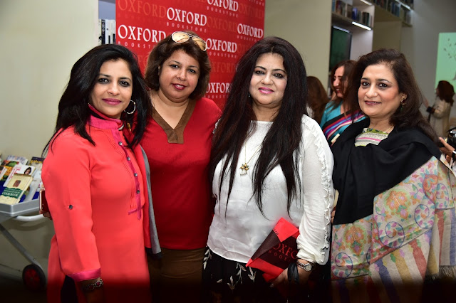 Shazia ilmi, Dr. Ekta Chadha , Nelofar Currimbhoy at Oxford Book Store