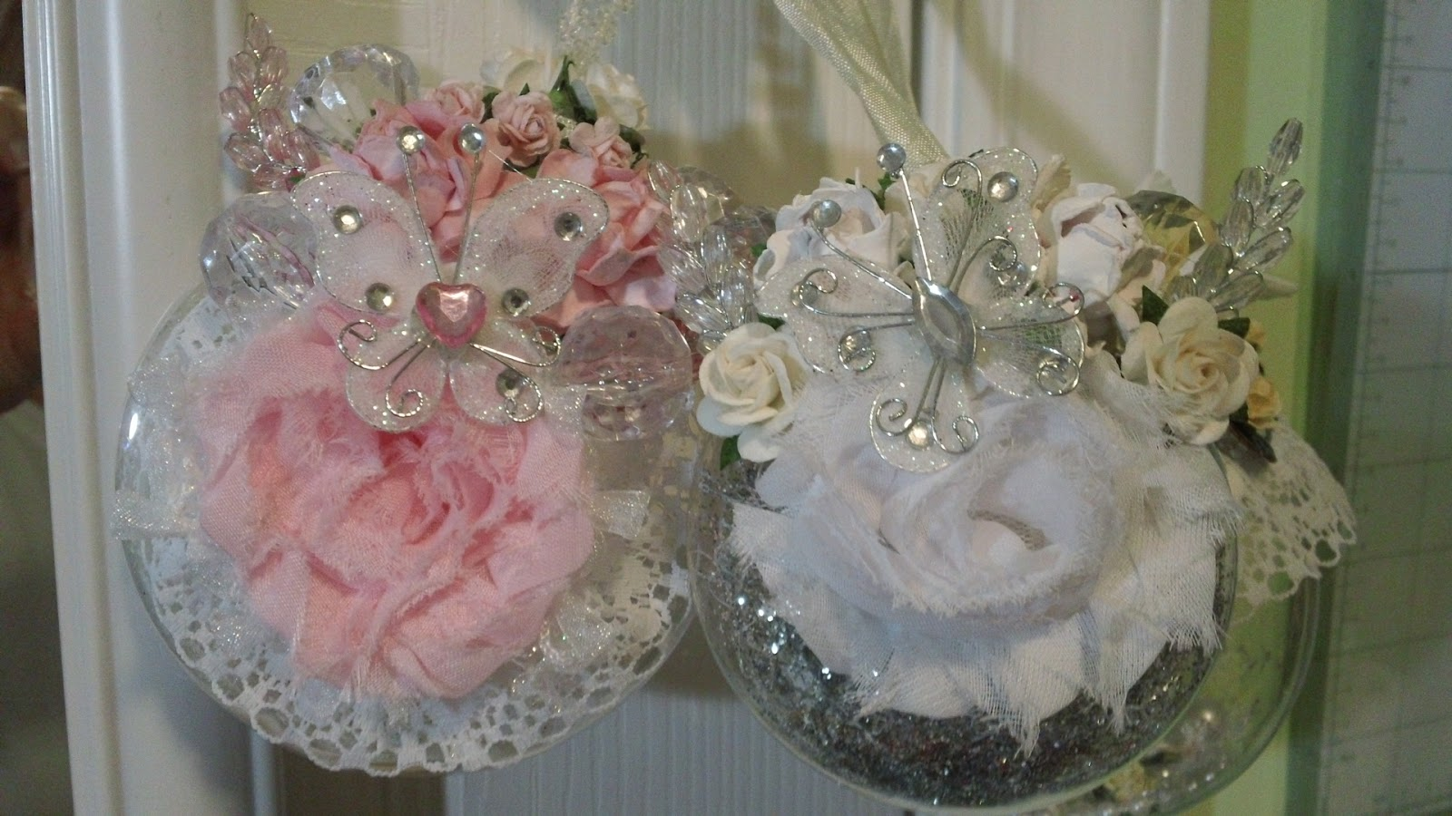 Shabby Chic Weihnachtsbaum Shabby Chic Xmas Decorations Diy Cottage Seasonal Decor Beautiful