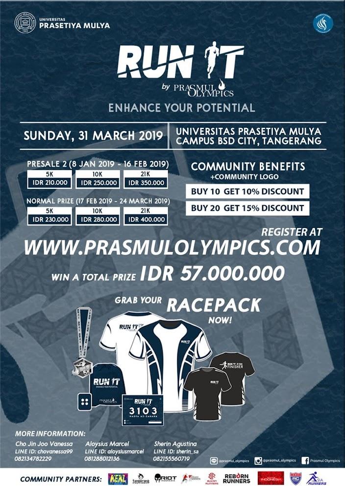 Run It by Prasmul Olympics • 2019