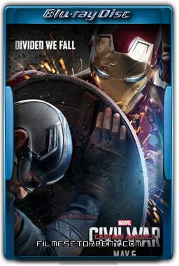 Capitão América 3 Guerra Civil Torrent 2016 720p e 1080p HDRip Dual Áudio