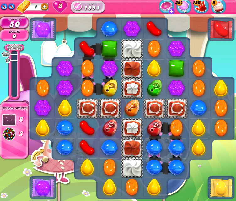 Candy Crush Saga 1594