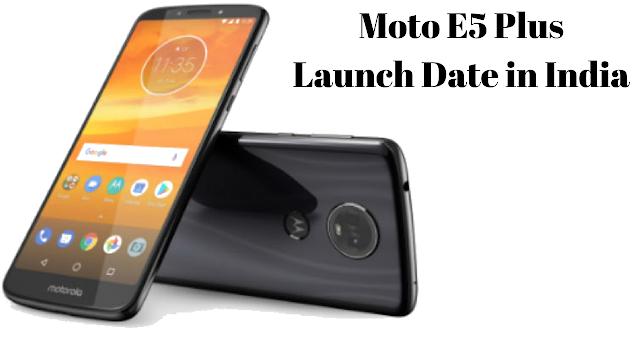 Moto E5 plus price