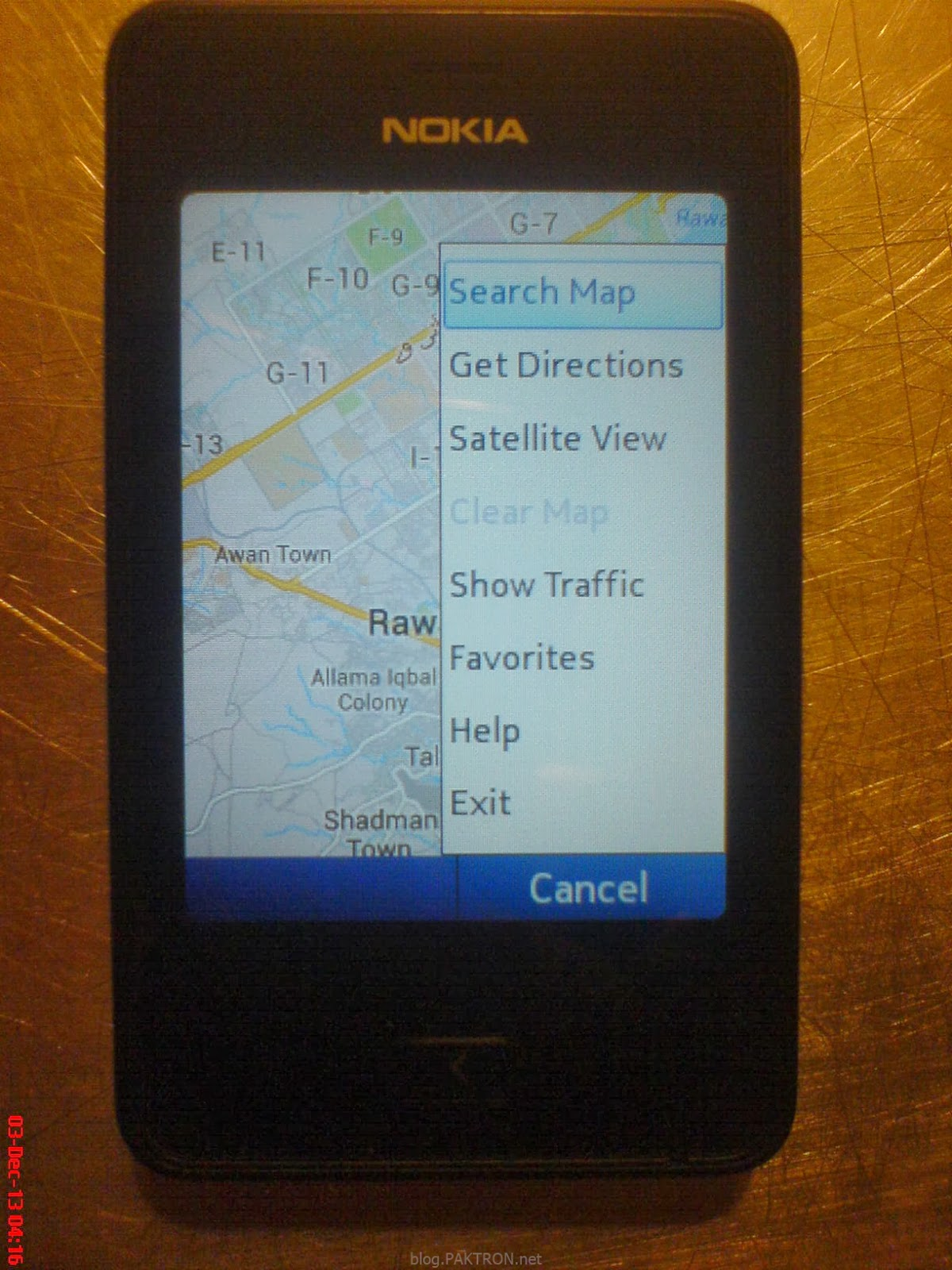 Google maps mobile app found four results. | download scientific.