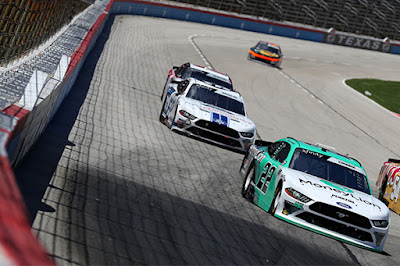 Ford Finishes 1-2 in #NASCAR Texas Xfinity Race - Austin Cindric #22