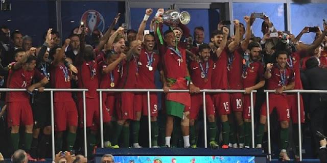 Juara Piala Eropa 2016 Portugal
