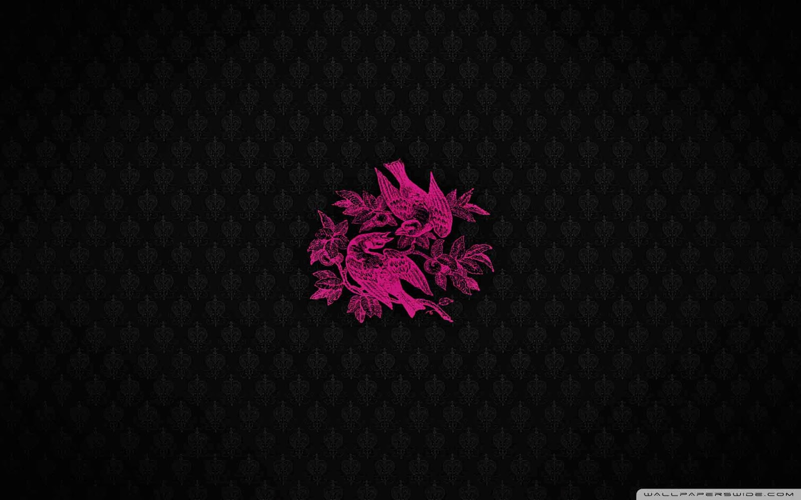 pink birds wallpaper