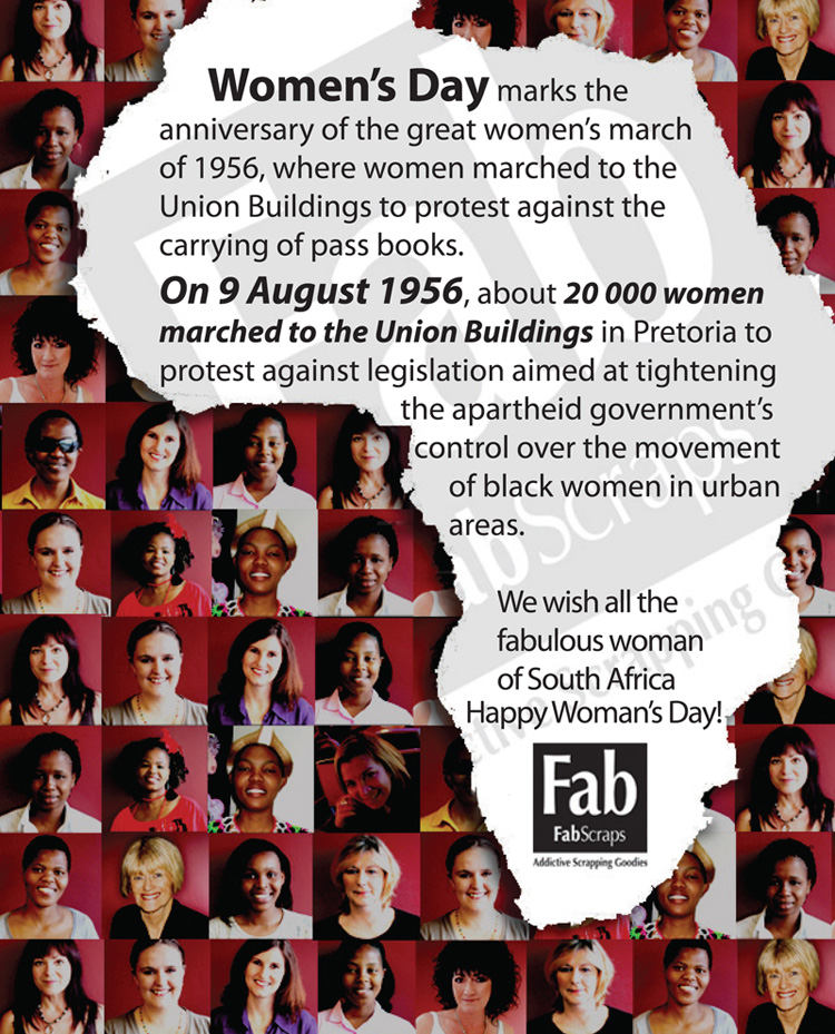 The 1956 Women's march to the Union Buildings | Pretoria  |9 August