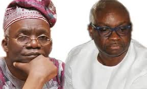 Fayose's hand stained with blood- Falana
