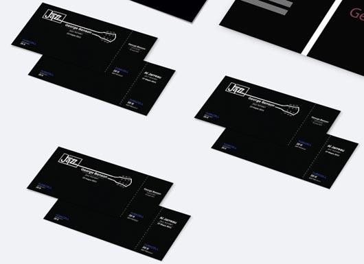 45 Attractive Ticket Designs - Jayce-o-Yesta - concert tickets design