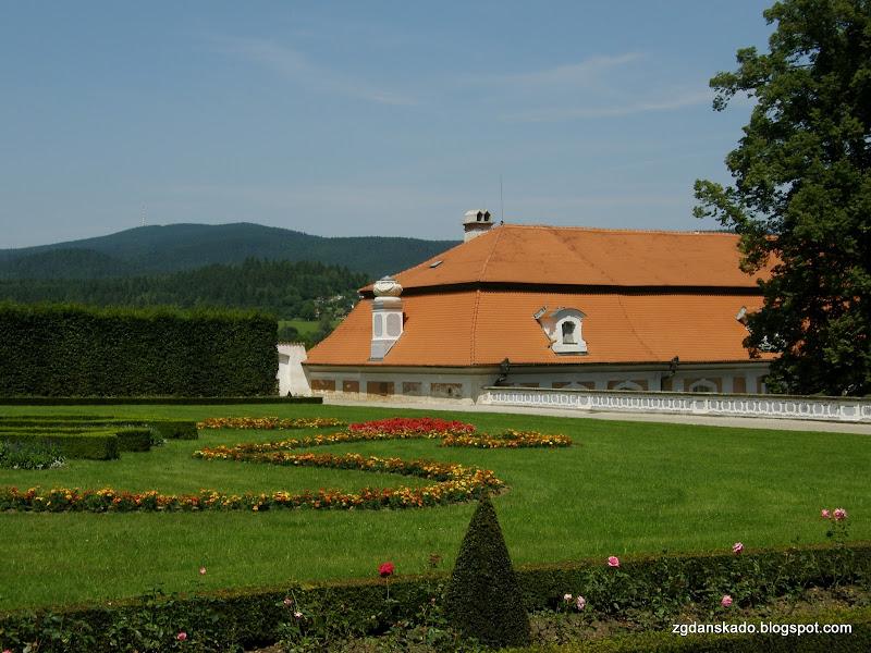 Czeski Krumlov - Ogrody zamkowe
