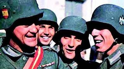 La Iglesia española rinde tributo a los que lucharon para Hitler