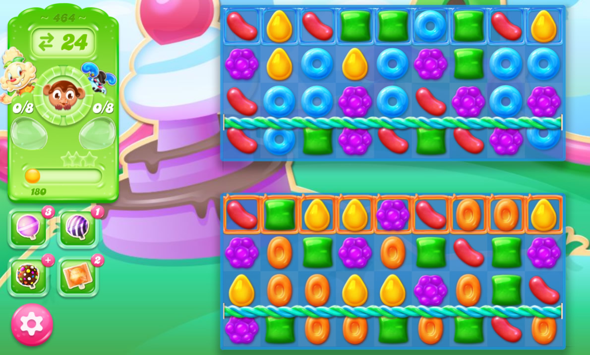 Candy Crush Jelly Saga 464