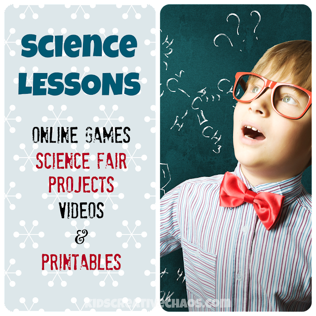 Homeschool Science Online Activities: Lessons, Projects, and Games