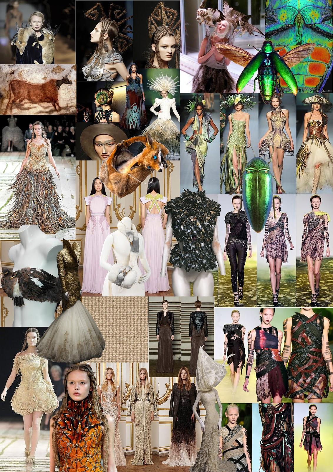 Fashion Illustration Stone Age Style